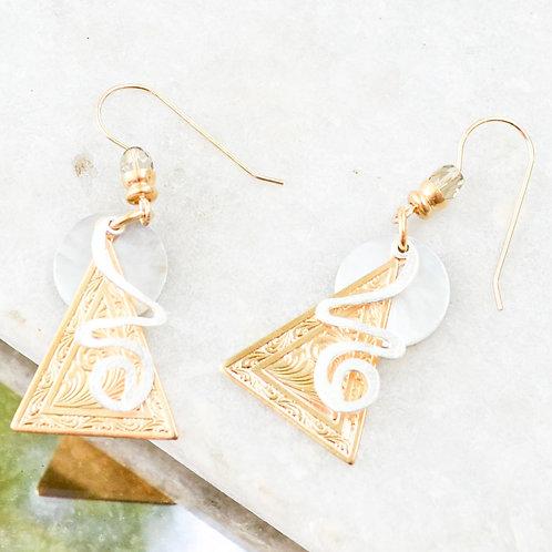 John Michael Richardson - Lost Pyramids Earring