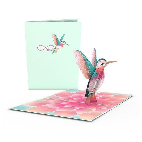 Love Pop - Lovely Hummingbird Card