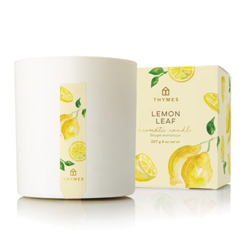 Thymes - Lemon Leaf Statement Poured Candle