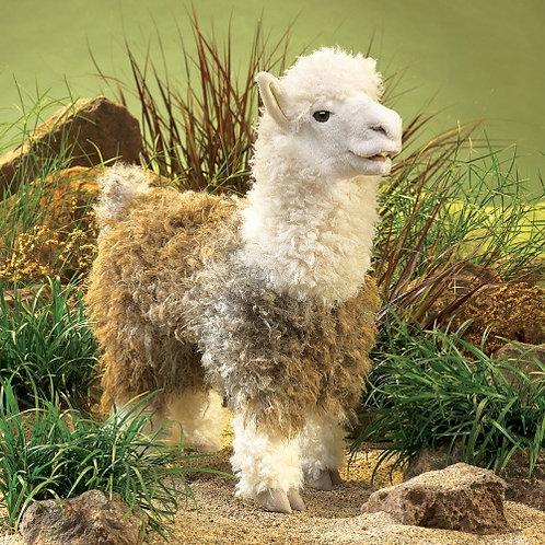 Folkmanis - Alpaca Puppet