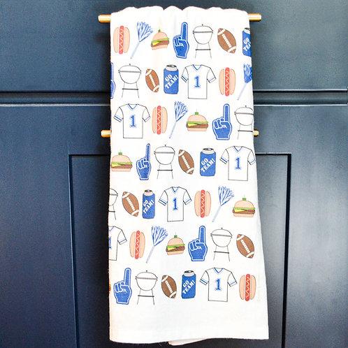 Kentucky Tailgate Tea Towel