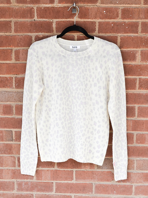 525 - The Leopard Cashmere Sweater