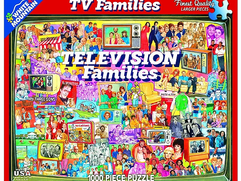 TV Families - 1000 Piece Jigsaw Puzzle