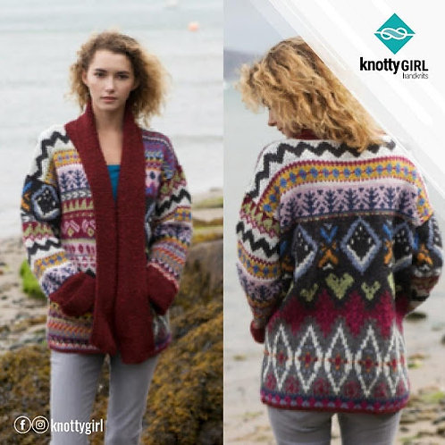 Knotty Girl - Rumours Cardigan - Multi