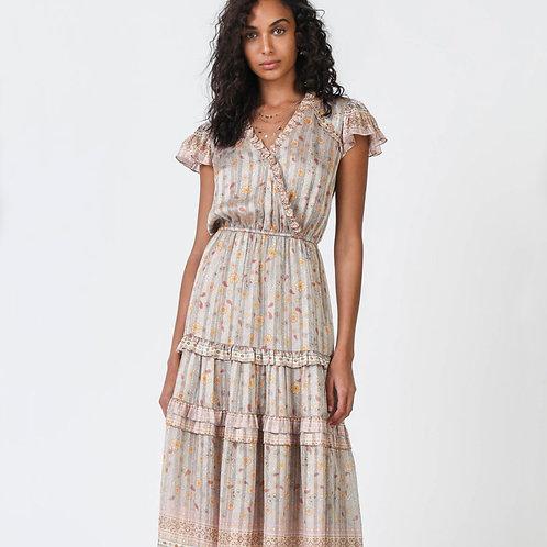 Current Air - Floral Border Print Dress
