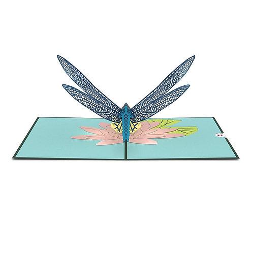 Love Pop - Dragonfly Card