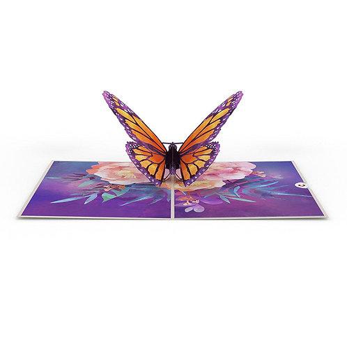 Love Pop - Monarch Butterfly Card