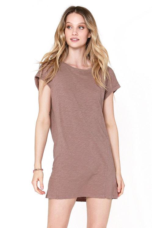 Bobi - Dolman Roll Sleeve Dress
