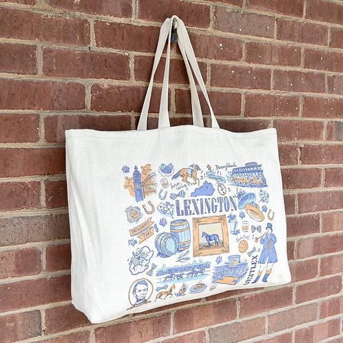 Lexington Doodle Tote Bag