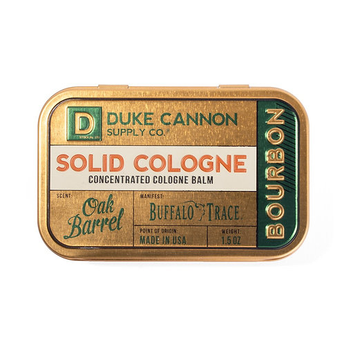 Duke Cannon - Bourbon Solid Cologne