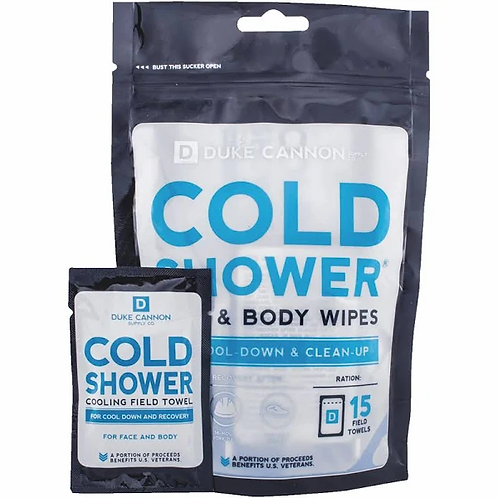 Duke Cannon - Cold Shower Field Towels Face & Body Wipes