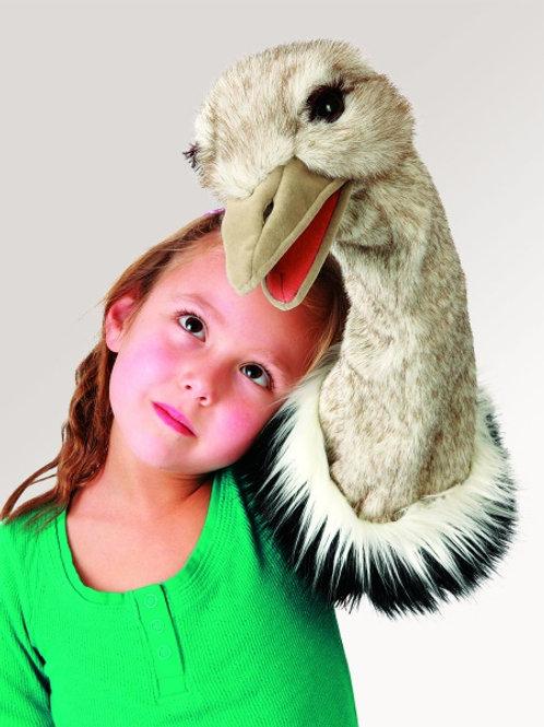 Folkmanis - Ostrich Stage Puppet