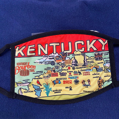 Kentucky Bourbon Trail  Face Mask