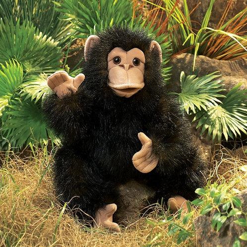 Folkmanis - Chimpanzee Baby Puppet