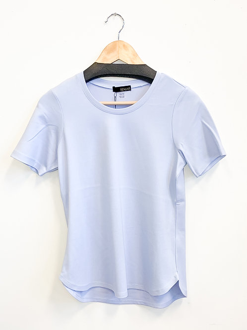 Renuar - Bring Back the Basic Tee in Blue