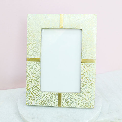 Speckled Gold 4 x 6 Frame