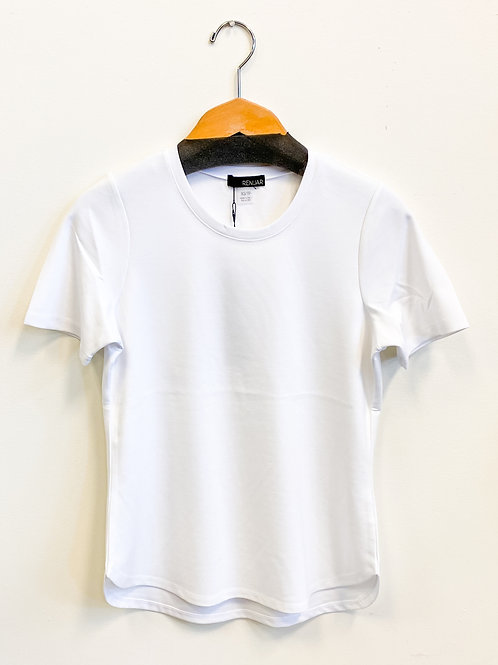 Renuar - Bring Back the Basic Tee in White