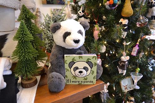 Jelly Cat - If I Were A Panda Book