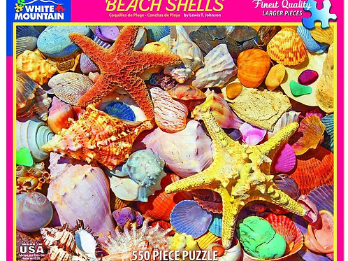 Beach Shells -  550 Piece Jigsaw Puzzle