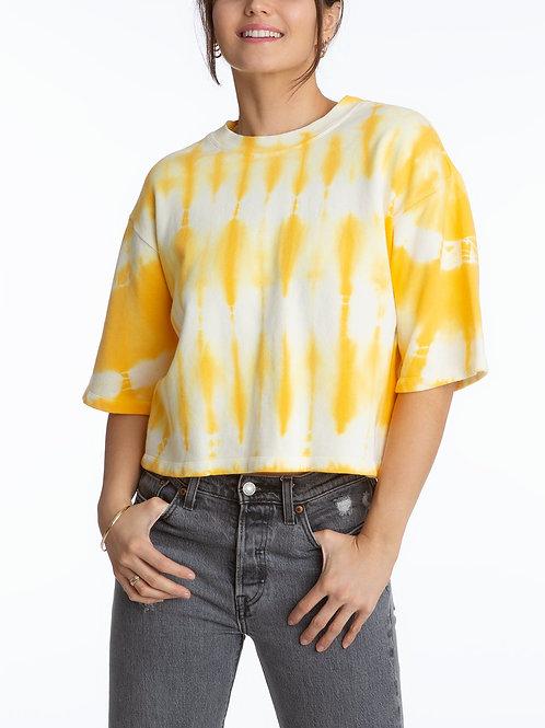 525 - Tie Dye Short Sleeve Pullover