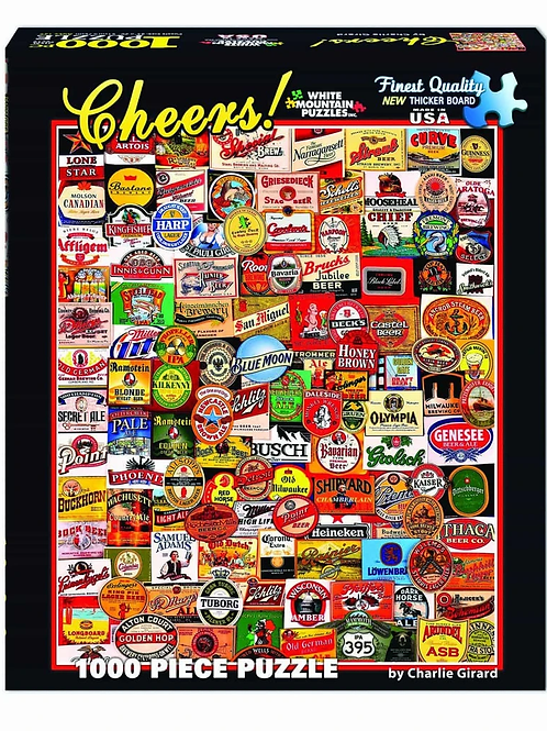 Cheers! - 1000 Piece Jigsaw Puzzle