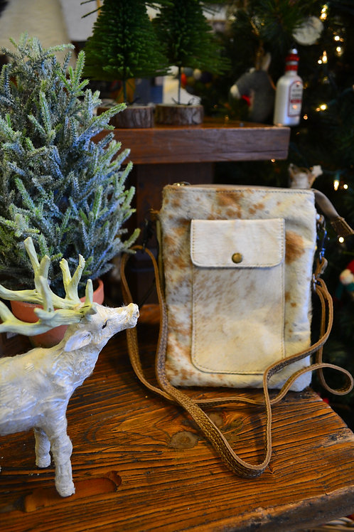Myra Bag - Leather Lithe Hairon Small Bag
