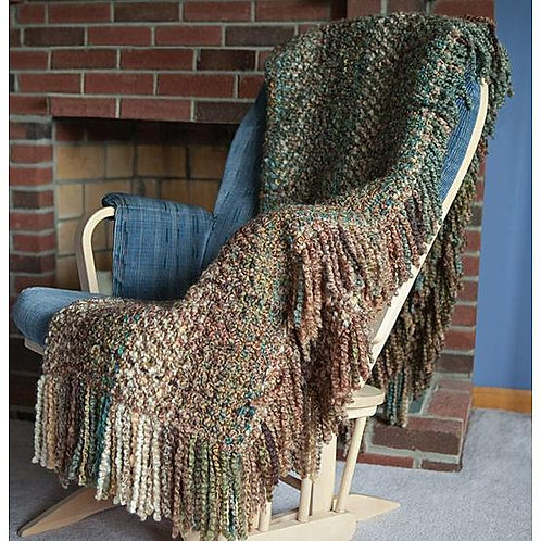 Bedford Cottage - Ombre Throw in Bark