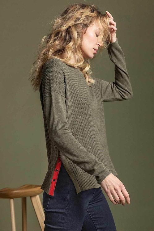 Lilla P - Side Snap Pullover