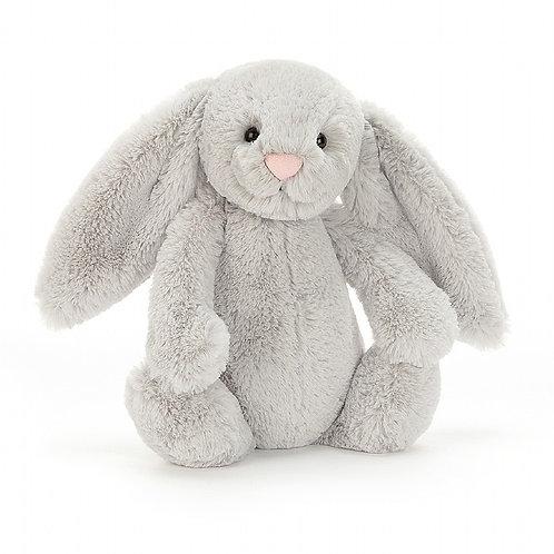 Jelly Cat - Small Bashfull  Grey Bunny