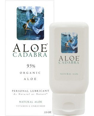 Aloe Cadabra Organic Lubricant