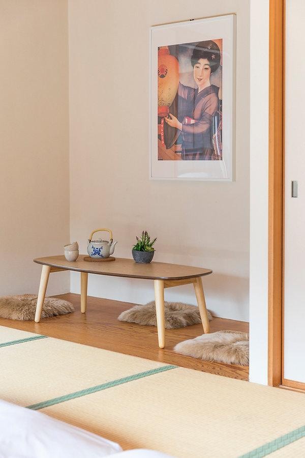 Tea sitting area Myoko Vista Japanese Room