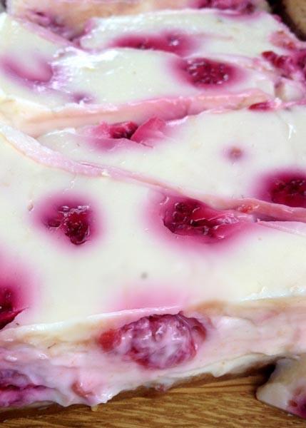 Raspberry & Lemon Cheesecake