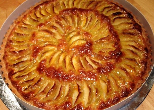 Caramelised Apple Tart