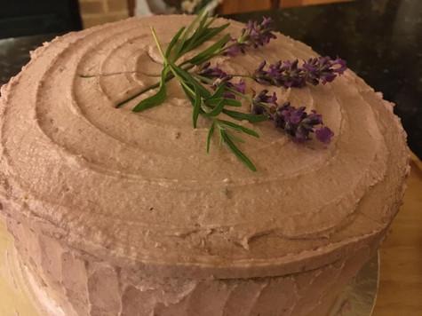 Blueberry & Lavender Layer Cake
