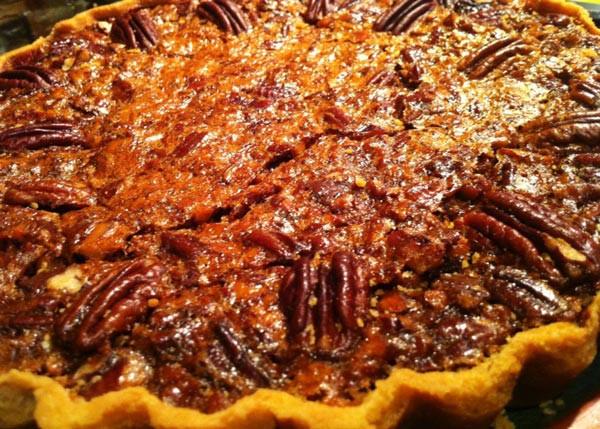 Pecan Chocolate Tart