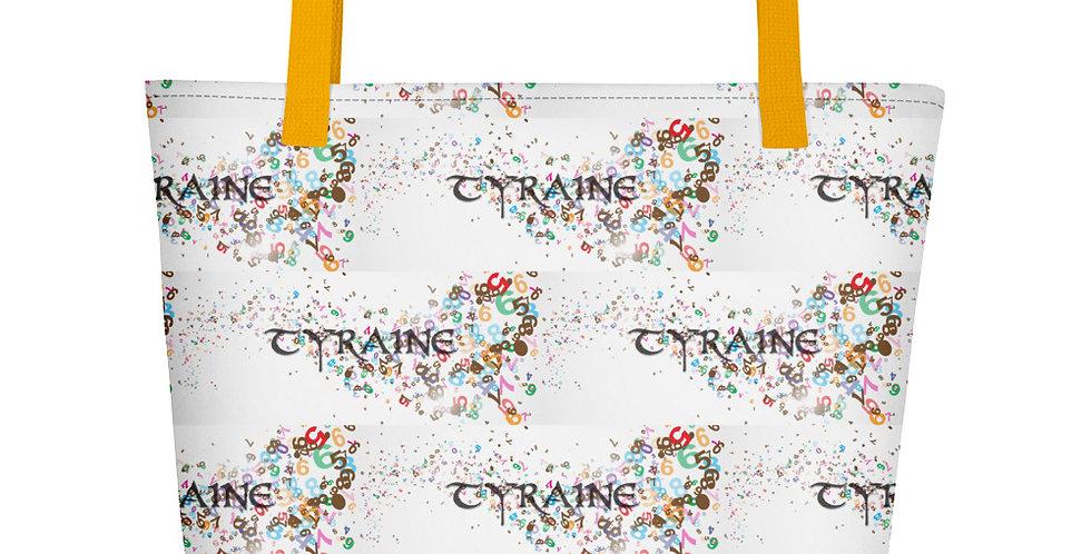 TYRAINE Print Beach Bag