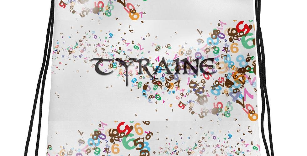 TYRAINE Print Drawstring bag