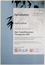 Diplom Fussreflex