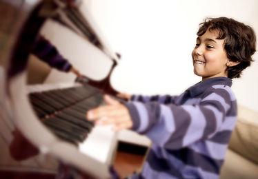 Child Piano Student