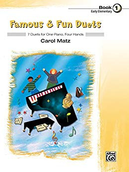 Cover of Famous and Fun Duets Book 1 by Carol Matz