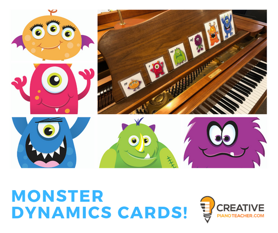 Monster Dynamic Cards (Free Printable Download)