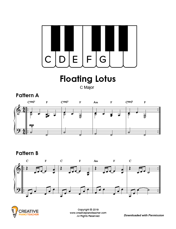 Preview of improv composition called Floating Lotus
