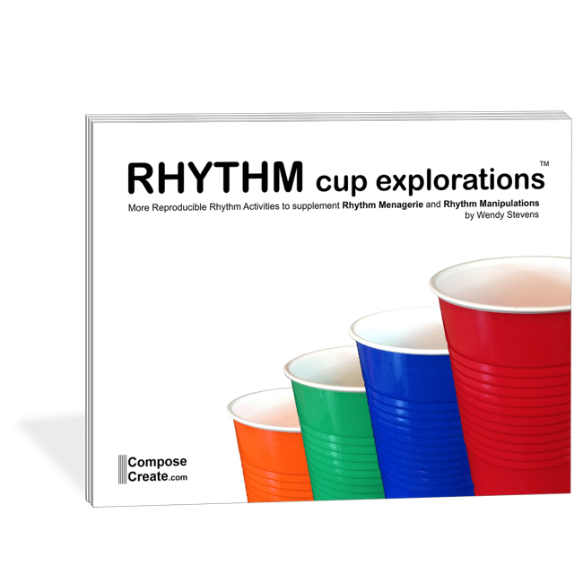 Cover of Rhythm Cup Explorations by Wendy Stevens