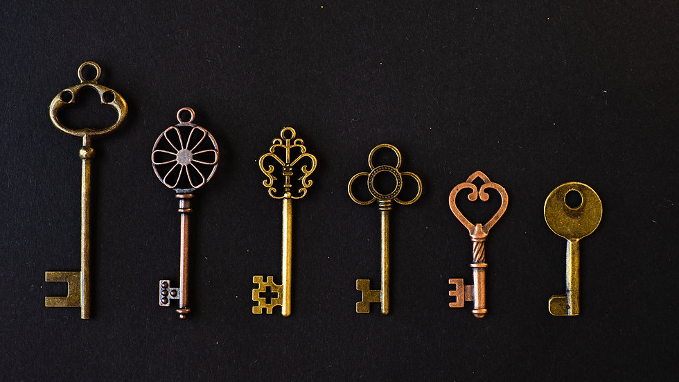 Many different old keys from different l