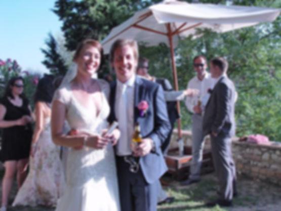 wedding at Villa Tuscany
