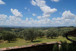 Villa rental with panoramic view