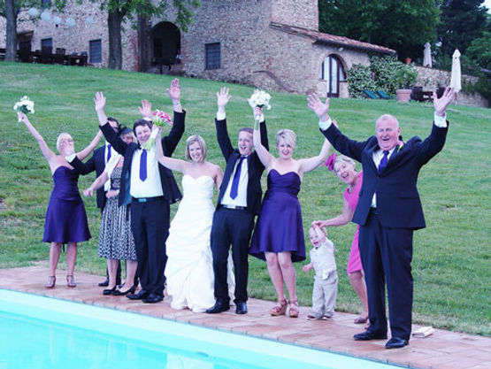 Wedding at Villa Tuscany