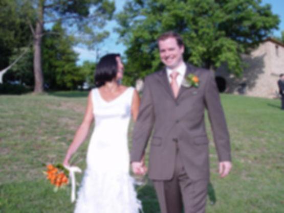 wedding in Tuscany villa rental