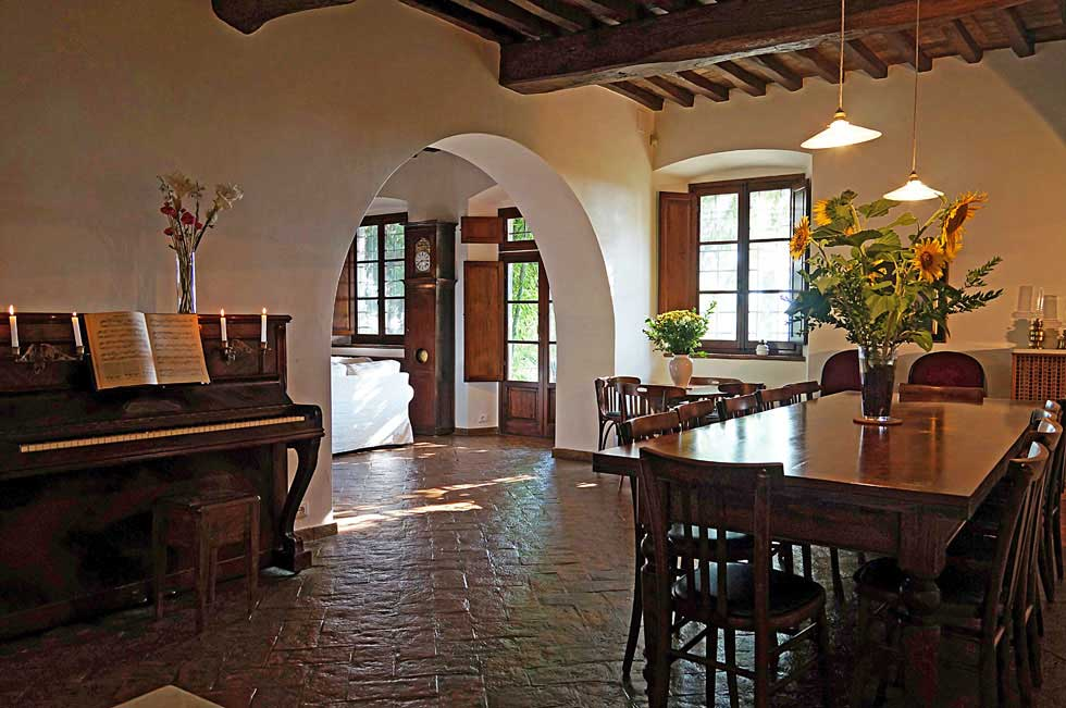Villa rental in Tuscany with WI-FI
