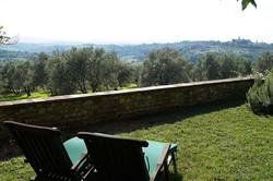 Tuscan villa rental with pool